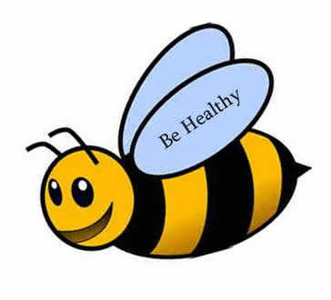 Be Healthy - bumble bee image