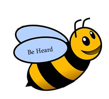 Be Heard - bumble bee image